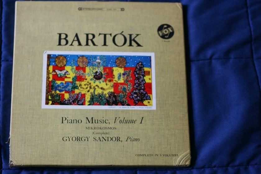Bartok - Piano Music Volume 1 SVBX 5425