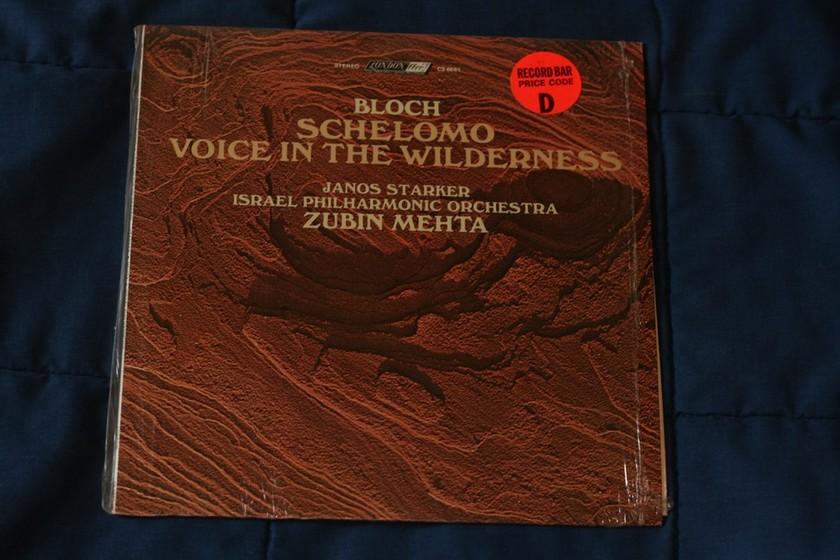 Bloch Schelomo - Voice In The Wilderness CS6661