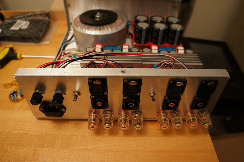 Factory Built Class D Audio 4-Channel Amp (2x SDS-254 Modules)