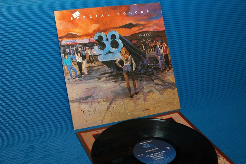 "38 SPECIAL - - ""Special Forces"" - A&M 1982 mastered by R Ludwig"