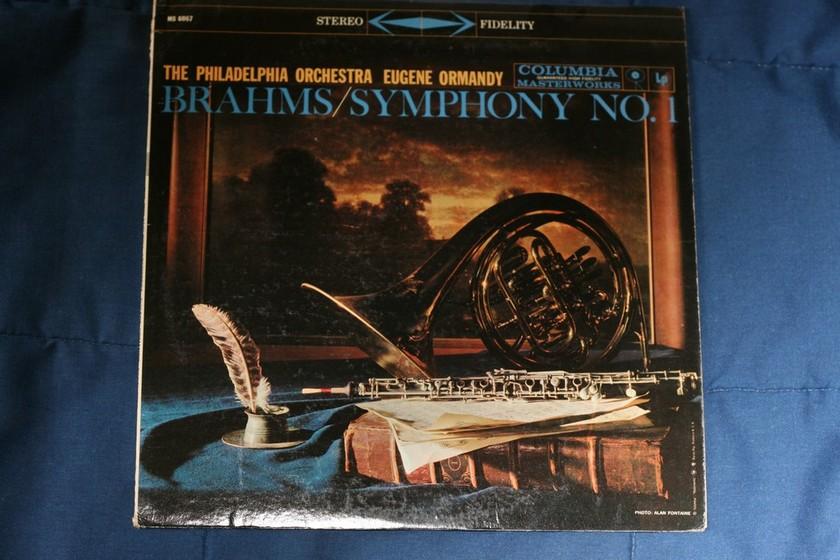 Columbia Masterworks - Brahms Symphony Number One MS 6067