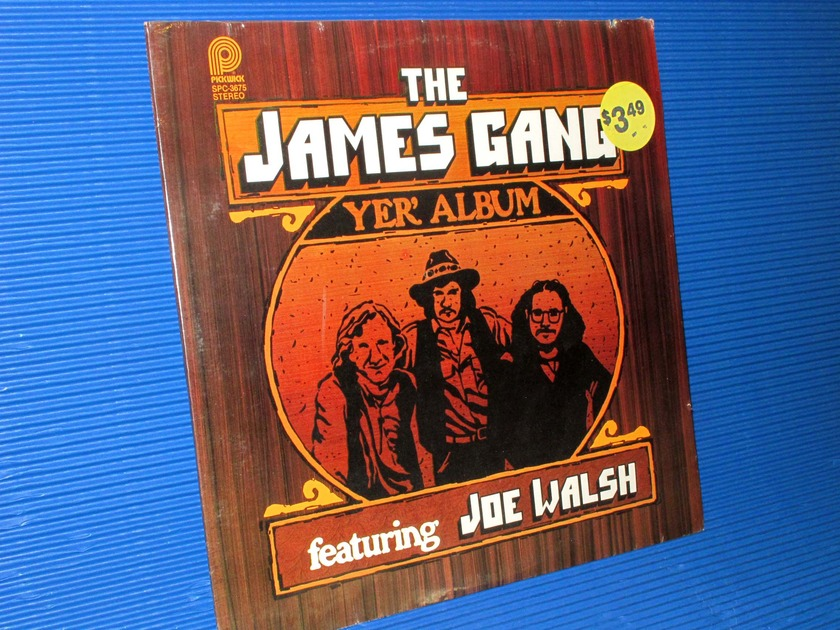 "THE JAMES GANG -  - ""Yer' Album"" - Pickwick 1979 re-master rare Sealed"