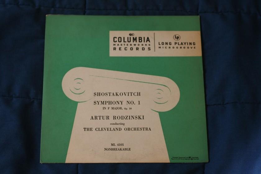 Shostakovitch - Symphony No 1 in F Major  ML 4101