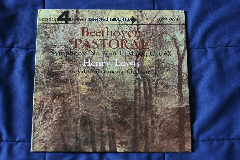 Henry Lewis Royal Philharmonic Orchestra  - Beethoven Pastoral  Symphony No 6 in F Major  London SPC 21039