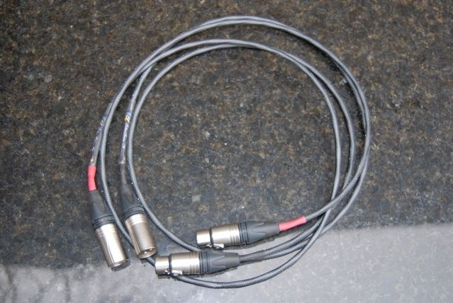 Ultimate Silver Audio 1.5m  XLR interconnects