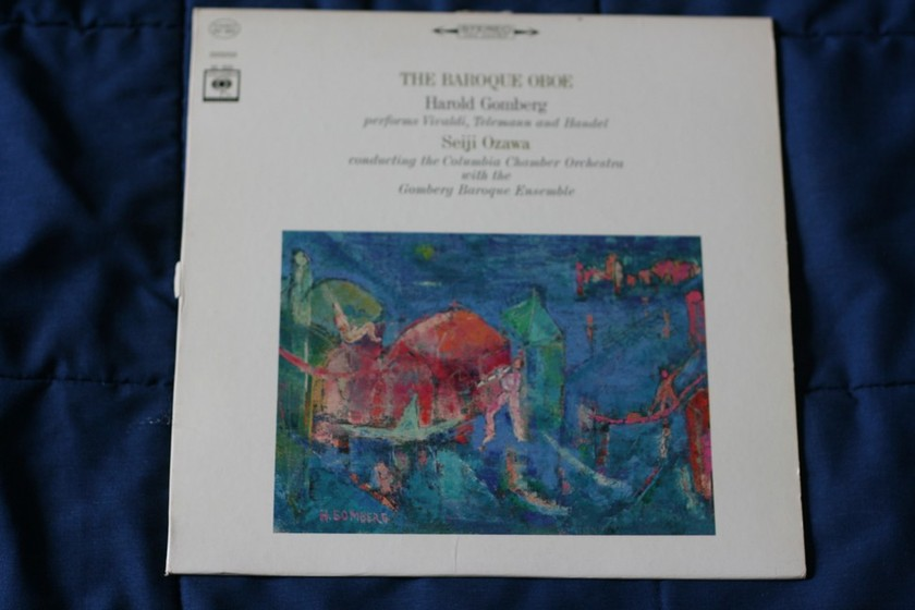 Oboe Harold Gomberg  - The Baroque ML 6232