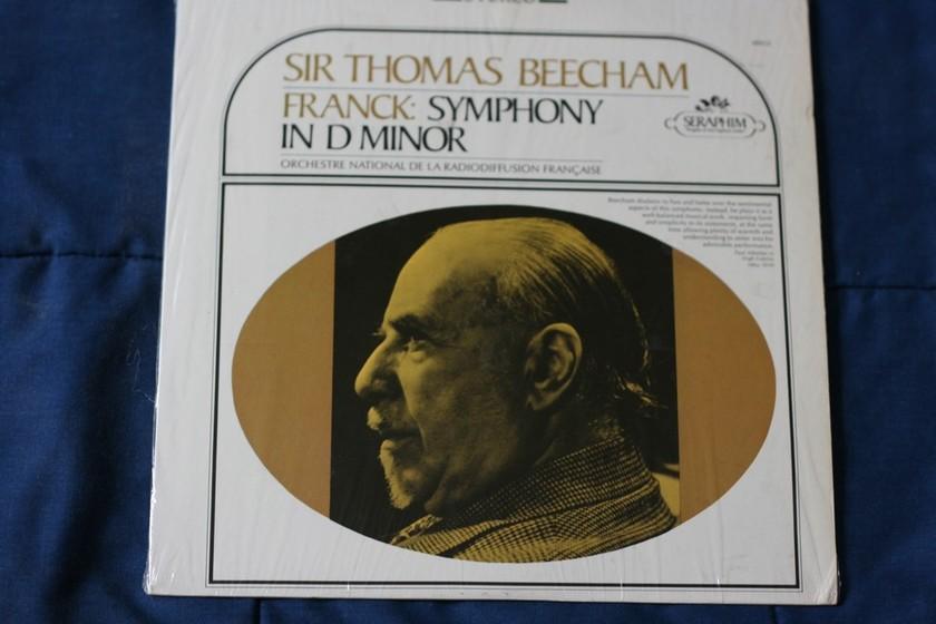 Sir Thomas Beecham - Franck: Symphony In D Minor Stereo S-60012