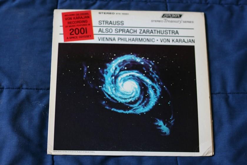 Strauss Also Sprach Zarathustra - Vienna Philharmonic  STS 15083