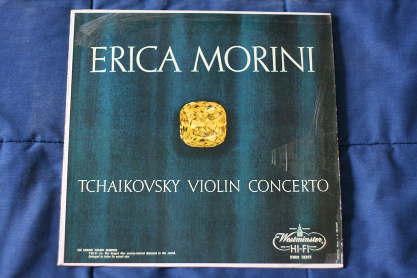 Tchaikovsky Violin Concerto - Erica Morini XWN 18397