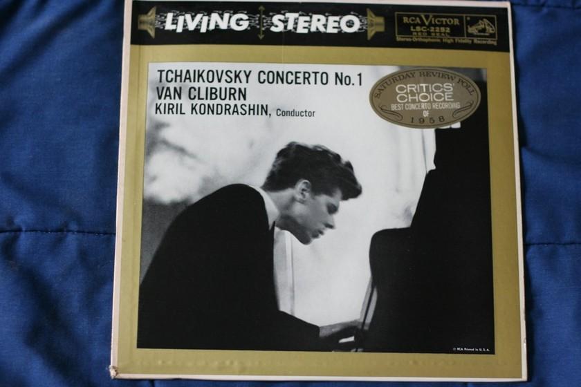 Van Cliburn - Tchaikovsky Concerto No. 1 LSC- 2252