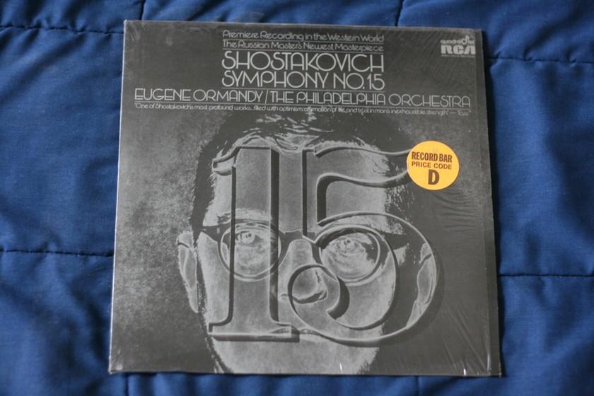 Eugene Ormandy - Shostakovich Symphony No. 15 XWN 18397