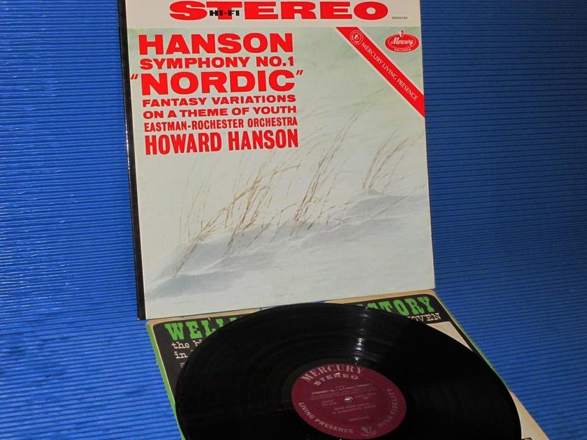 "HANSON/Hanson - - ""Nordic Symphony"" -  Mercury Living Presence 1960 1st pressing"
