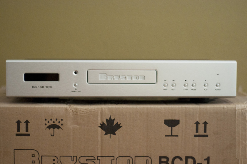 Bryston  BCD-1 CD Player Silver Face with Remote