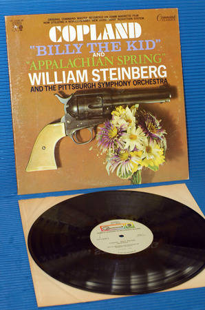 "COPLAND/Steinberg - - ""Billy The Kid/Appalachian Spring"" -  Command 1973"