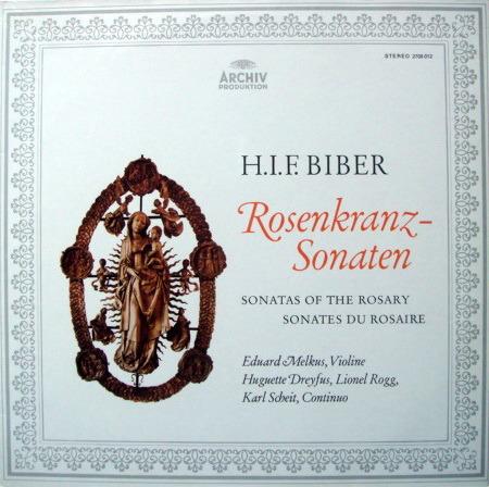 Archiv / MELKUS, - Biber Sonatas of the Rosary,  MINT, 2 LP Set!