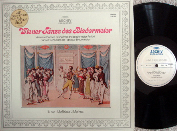 Archiv / MELKUS ENSEMBLE, - Viennese Dances dating from the Biedermeier Period, MINT!