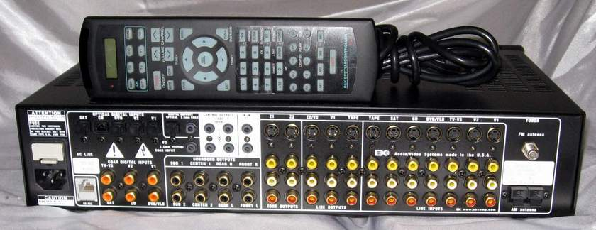 B&K Components Reference 20 dd dts preamplifier processor