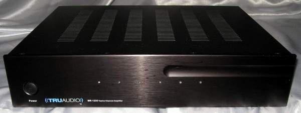 Tru Audio Mr-1235 35 wpc 12 channel standalone power amplifier