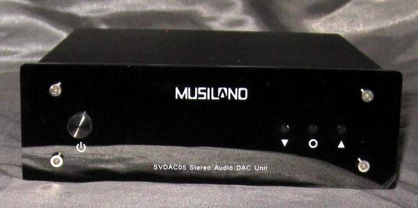 Musiland Svdac05 32-192kHz DAC preamp headphone amp