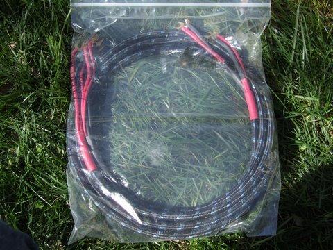 DH Labs Q-10 Signature 8 ft/Spades/internally biwired.