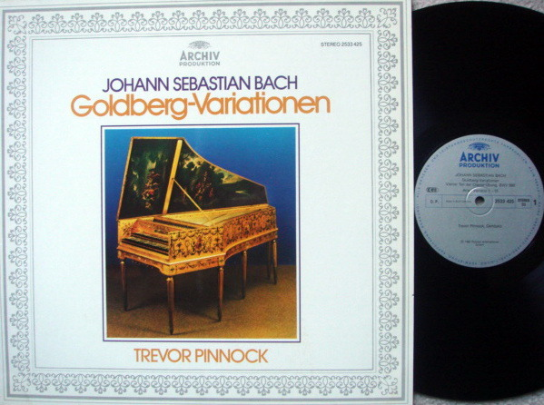Archiv / PINNOCK, - Bach Goldberg Variations, MINT!