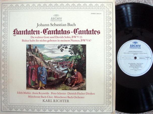 Archiv / RICHTER, - Bach Cantatas BWV.23 & 87, MINT!