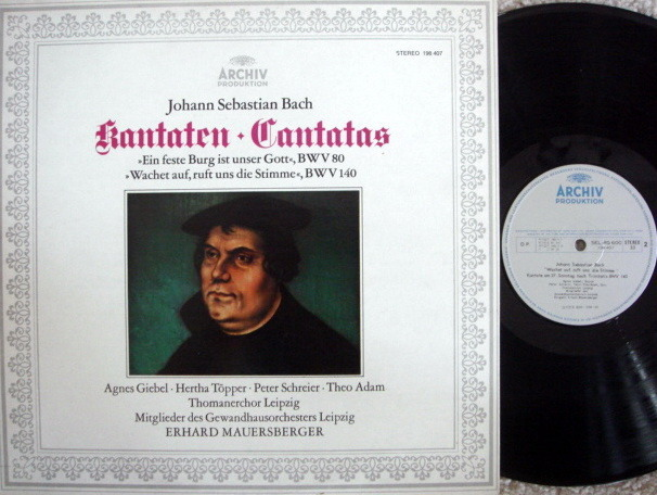 Archiv / RICHTER, - Bach Cantatas BWV.80 & 140, MINT!