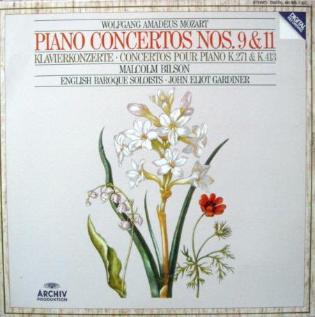 Archiv Digital / GARDINER-BILSON, - Mozart Piano Concerto No.9 & 11, MINT!