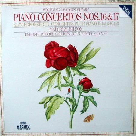 Archiv Digital / GARDINER-BILSON, - Mozart Piano Concerto No.16 & 17, MINT!