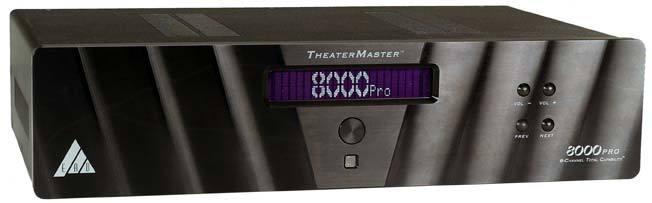 EAD TheaterMaster 8800 Pro Black Mint with last software rev. 3.2 + Marantz universal remote 5400