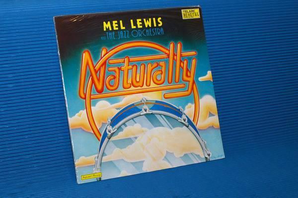 "MEL LEWIS -  - ""Naturally"" - Telarc 1979 import Sealed"
