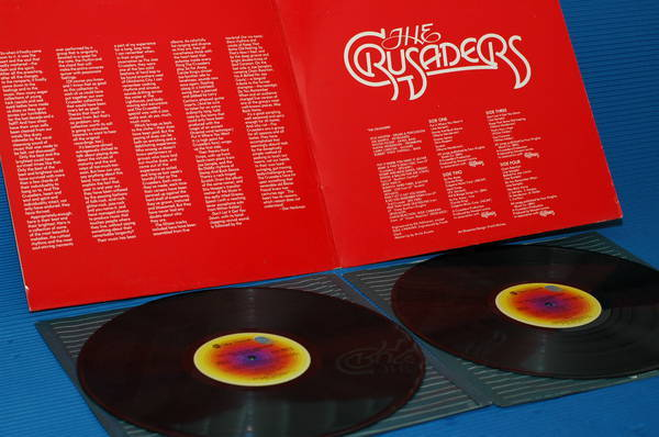 """THE CRUSADERS - - """"The Best of"""" - Blue Thumb  1976  2 lp's"""