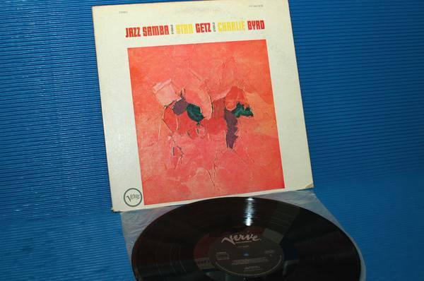 "STAN GETZ/CHARLIE BYRD -  - ""Jazz Samba"" - Verve 1976"