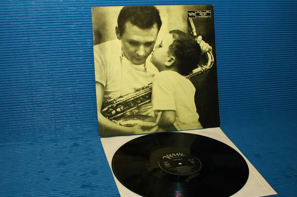 "STAN GETZ -  - ""Stan Getz Plays"" - Verve/Polygram 1953? French pressing mono"