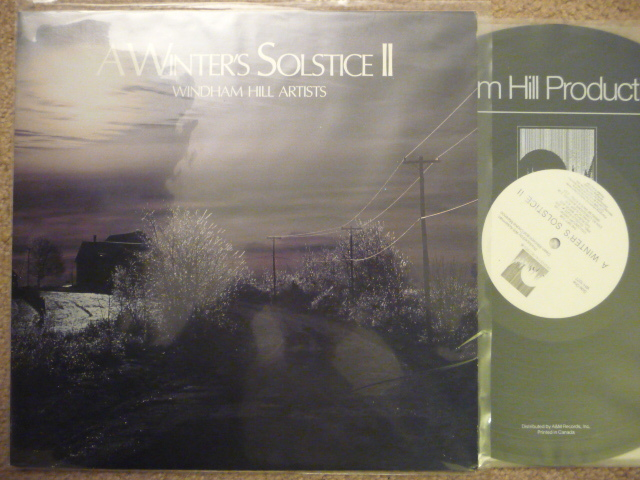 A Winter's Solstices  - WINDHAM HILL  LP