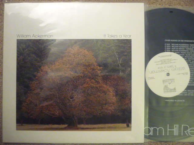 WILLIAM ACKERMAN - IT TAKES A YEAR WINDHAM HILL LP