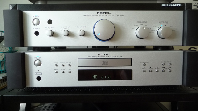 Rotel RA 1062 & RCD 1072 Integrated Amp and CD Player