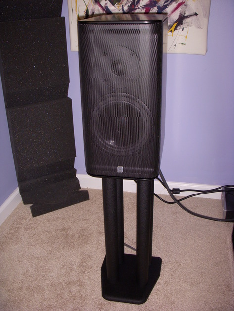 Snell J-7, monitors, Black, exc sound, no flaws