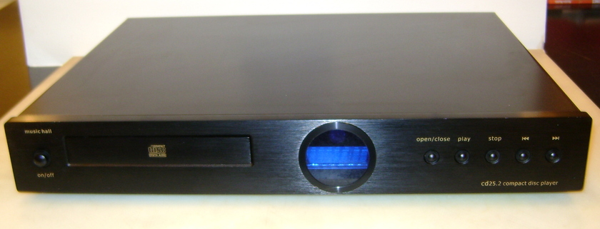 Music Hall 25.2 Black CD Player