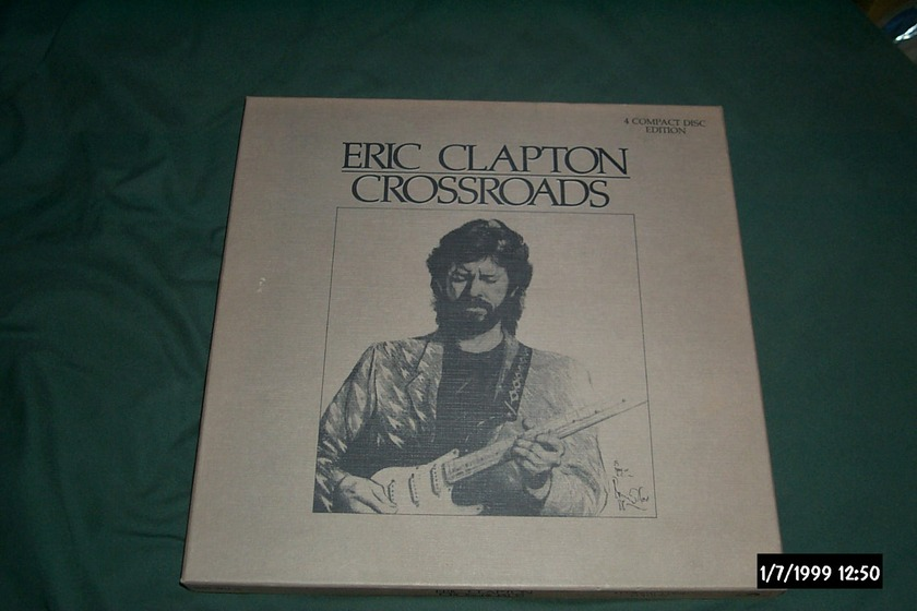 Eric Clapton - Crossroads 4 cd set 12 X 12 Box Set NM