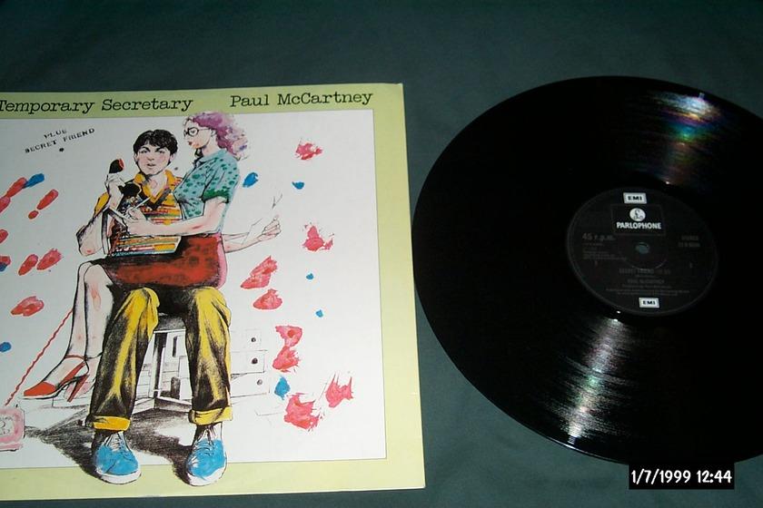 Paul Mccartney - Secret Friend Parlophone UK 12 Inch 45 rpm NM