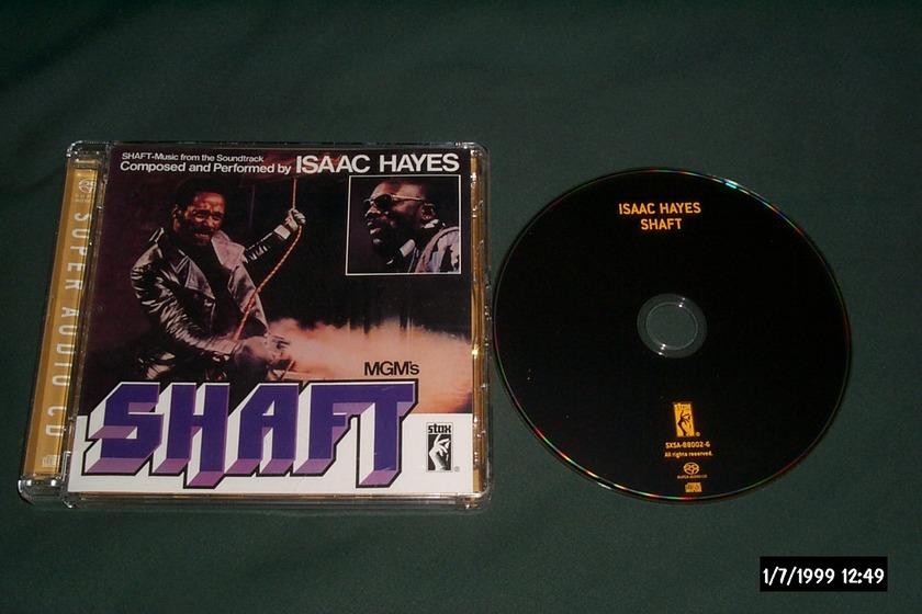 Isaac Hayes - Shaft SACD hybrid NM