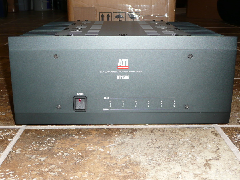 ATI AT1506, 6-channel powerhouse, Chicago area, pickup only