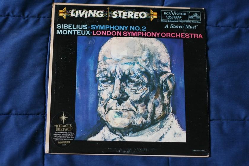 Monteux: London - Sibelius Symphony No.2 RCA Victor LSC-2342