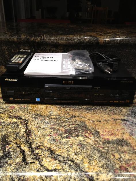 Pioneer Elite DV-59avi DVD/CD/SACD/DVD-A/HDCD/MP3/CD-R/WDVD-R/W