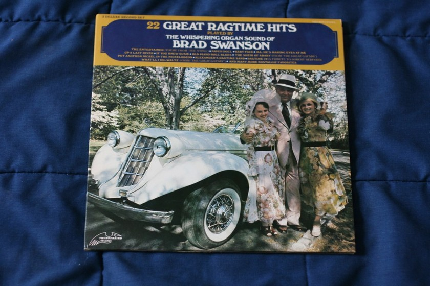 Brad Swanson - 22 Great Ragtime Hits THDX 9015