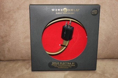 Wireworld Gold Electra 5.2 2.0M Reference Quality Power Cord