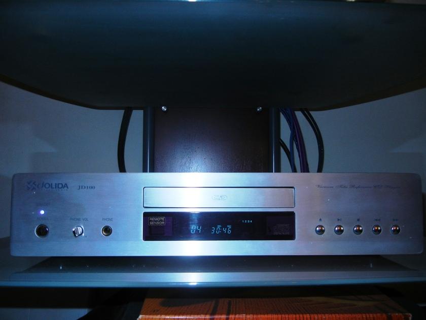 Jolida JD100A  Vacuum Tube Compact Disc Player