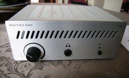 Wheatfield HA-1 SE Headphone amp/preamp