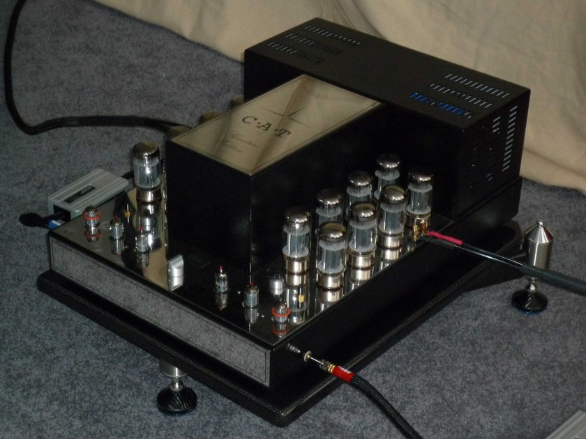 Convergent Audio Technology C.A.T. JL-2 Mark II Signature Series Tube Amp plus additional tubes